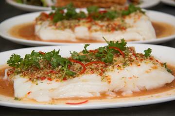 Fish sauce seafood.