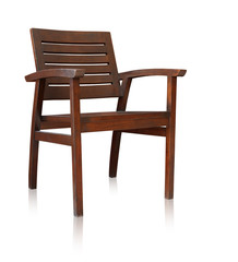 Bar chair isolated over white, clipping path.