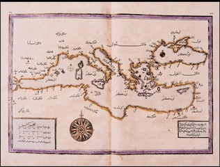 Arabic old map