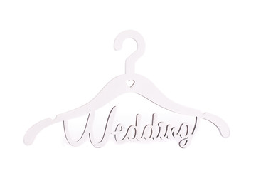 Hanger with the inscription Wedding.