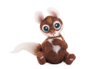 Soft toy squirrel.