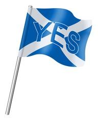 Scottish referendum. YES (2)