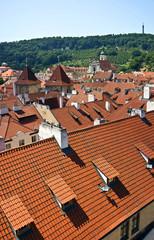Prague, Czech Republic. View of the city of a