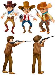 Cowboys and hunters
