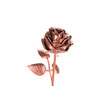 Beautiful handmade golden rose.