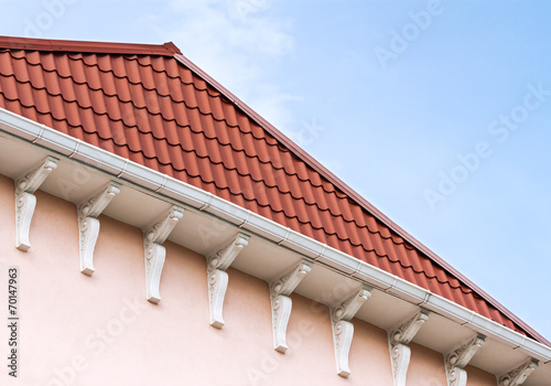 canvas print picture Roof of the house