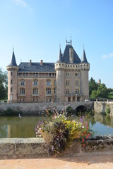 Moated Castle La Clayette