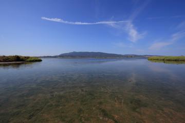 Orbetello Lagoon, Tuscany, Italy