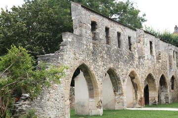 ruines dans un pard de reims