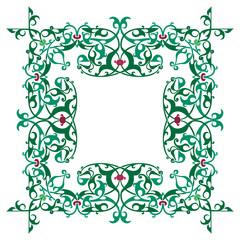 Ornamental luxury frame, hand crafts