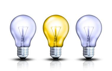 3 Glühbirnen