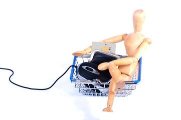 Easy internet shopping