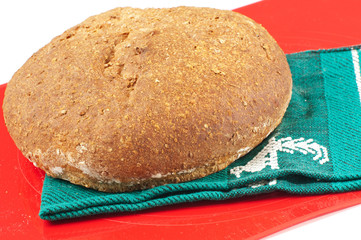 Fresh baked whole wheat bread