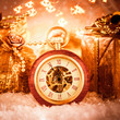 canvas print picture - Christmas pocket watch