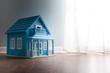 Blue model house - 70152399
