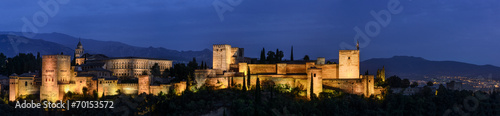 canvas print picture Grenade - Le Alhambra