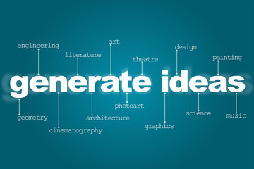 Generate ideas for creativity