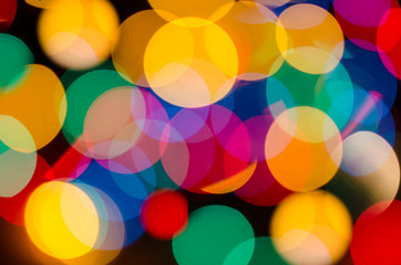 christmas colorful abstract background