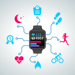 montre connectée - smart watch - sport - 2014_09 - 2