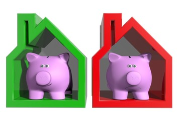 Huizen markt goede en slechte tijden
