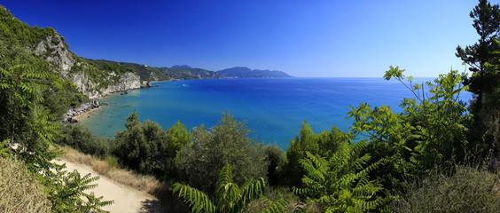 Panorama - Mirtiotissa Beach, Korfu