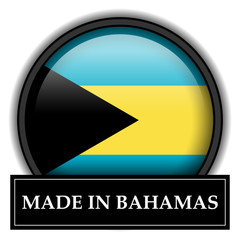 Made in button - Bahamas