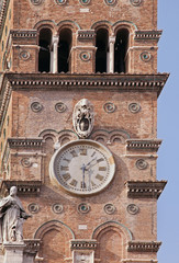 Rome clock tower