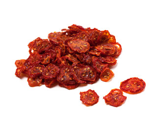 Dried slices of tomato