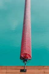 swimming line in swimming pool