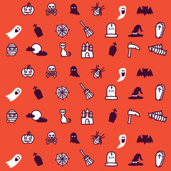 pattern vector halloween