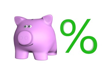 Stijgende rente percentage
