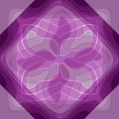 Abstract purple tile with transparency effect