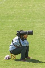 カメラウーマン