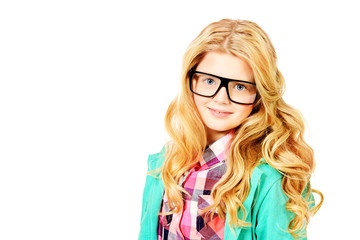 spectacles girl