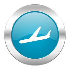 arrivals internet blue icon