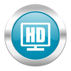 hd display internet blue icon