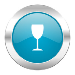 alcohol  internet blue icon