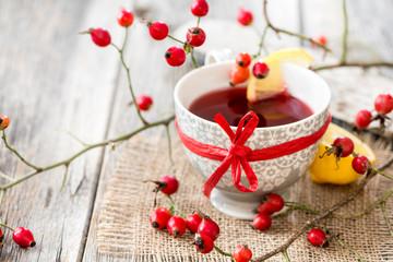Hagebutten Tee