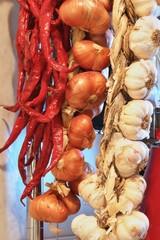Trecce aglio, peperoncino