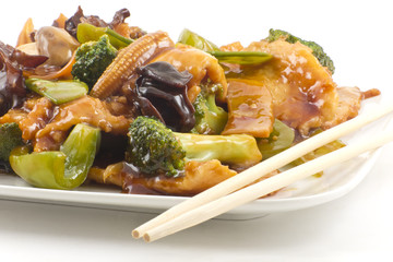 Yu-Shiang Chicken with Garlic Sauce