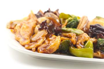 Yu-Shiang Chicken with Garlic Sauce