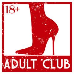 adult club stamp