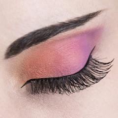 eye make up close up