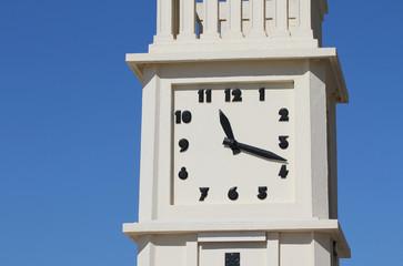 L'horloge du remblai des Sables d'Olonne