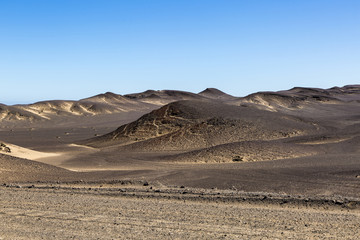 Panorama in Namibia, Africa