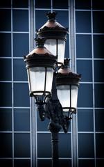 Decorative old lamp