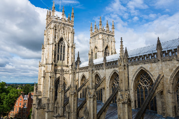 York Minster - towers