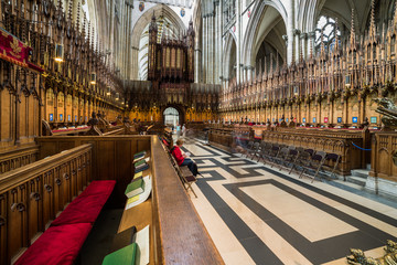 York Minster - The choir
