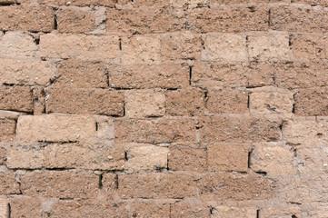 mud brick wall