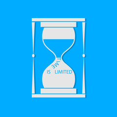Your time is limited concept